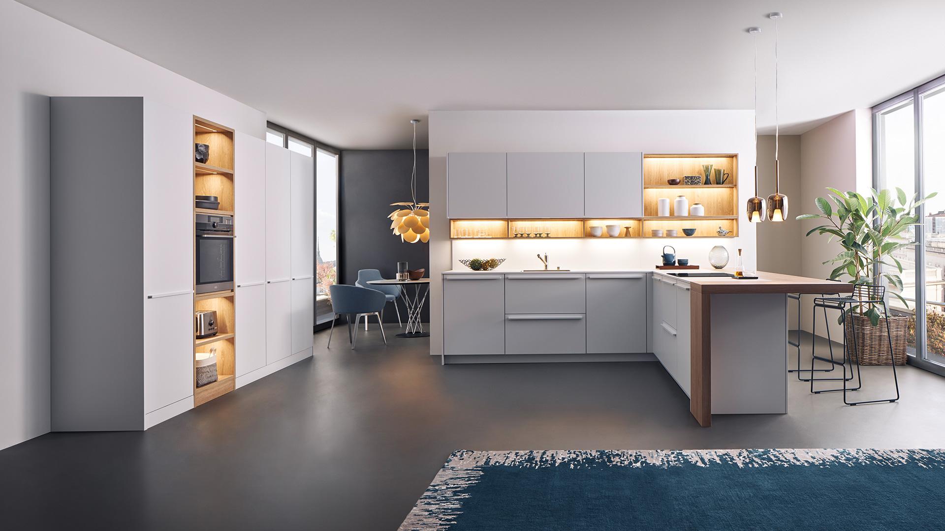 leicht k chen in bielefeld moderne k chen und designer k chen im k chenhaus bielefeld. Black Bedroom Furniture Sets. Home Design Ideas