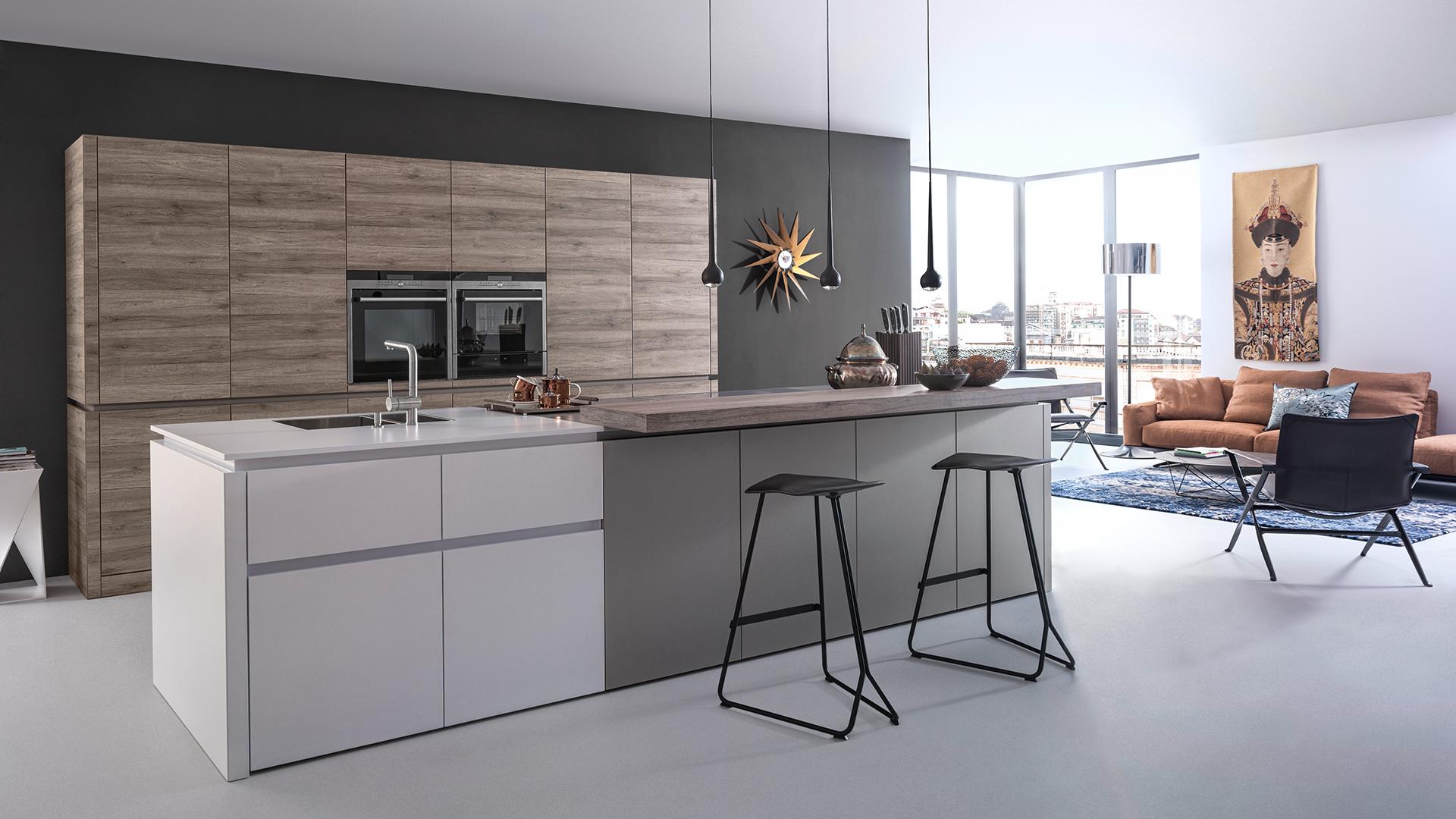 moderne k chen leicht k chen designer k che im k chenstudio bielefeldk chenhaus bielefeld. Black Bedroom Furniture Sets. Home Design Ideas